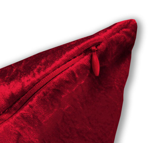 Mv27a Hot Red Diamond Crush Coton Velours Coussin Housse//taie d/'oreiller taille personnalisée