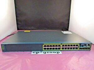 Cisco-Catalyst-WS-C2960S-24TS-L-24-Port-Gigabit-LAN-Base-Switch-w-C2960S-STACK