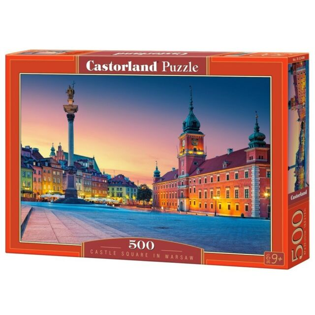 Castle Square, Warsaw - 500 Pieces - Csb52486 Castorland Jigsaw Premiumpc