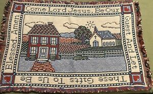 Vintage-Country-Spiritual-Woven-Placemat-1-19-X-13-Nice