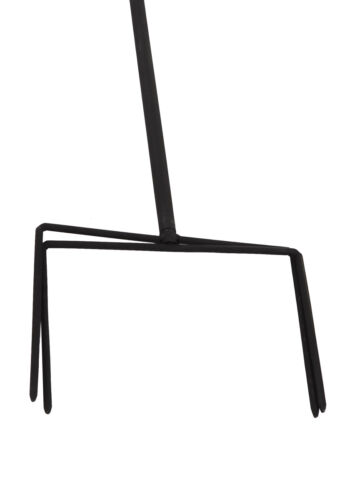 XXL Doppelwindrad Windrad Garten Dekoration Windspiel Metall 140 cm Ø 38 cm  C