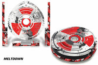 Skin Decal Wrap For Irobot Roomba 560 Vacuum Stickers Accessory Kit Meltdown
