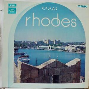 Various Rhodes Greece Lp Vg Sreg 2122 Regal Records Vinyl