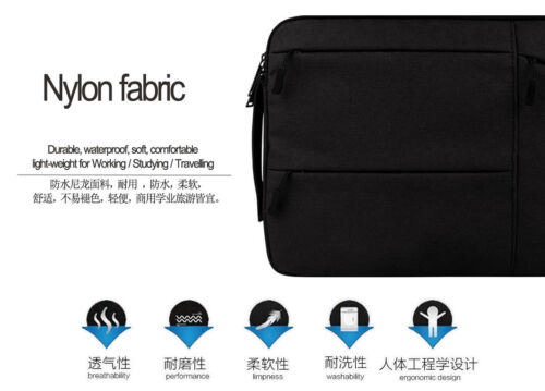 "Laptop Sleeve Case Notebook Carry Bag For 2018 Apple MacBook Pro Retina 13/"" 15/"""