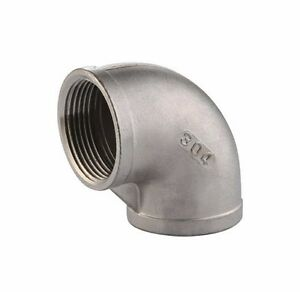 "2-1/2"" Inch stainless steel 304 90  Degree Elbow NPT Class 150 Heavy Duty"