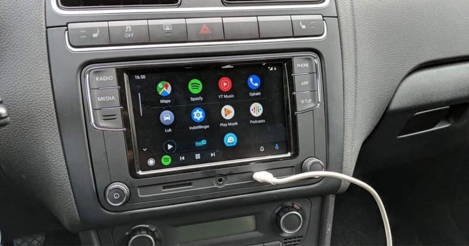 Multimedia system, VW RCD 330 plus - Android auto. - CarPlay