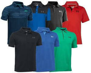 Under-Armour-Boys-Junior-Golf-Polo-Shirt-Clearance-ALL-SIZES-1st-Class-Post