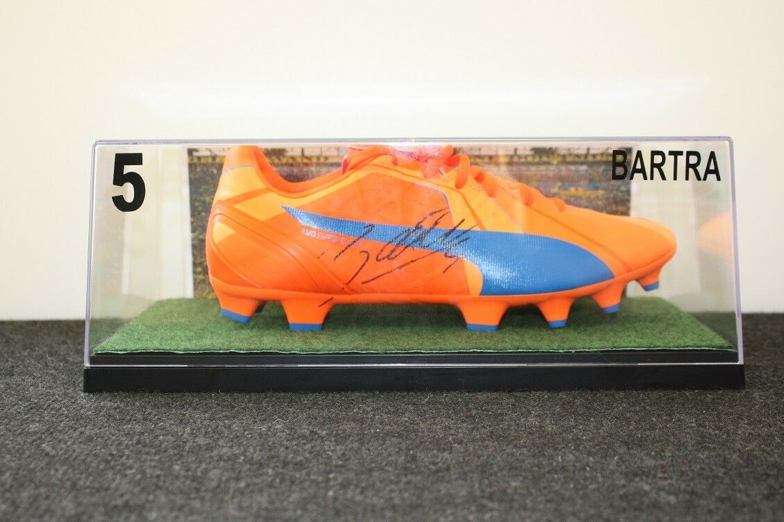 Zapato de soccer, marc bartra firmado, borussia dortmund, BVB, 42,5