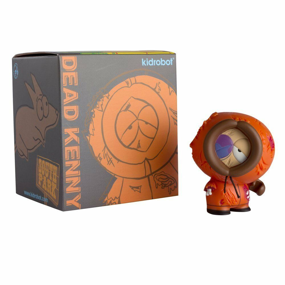 Kidrobot South Park DEAD KENNY 3 INCH Figure - BRAND NEW - UK SELLER