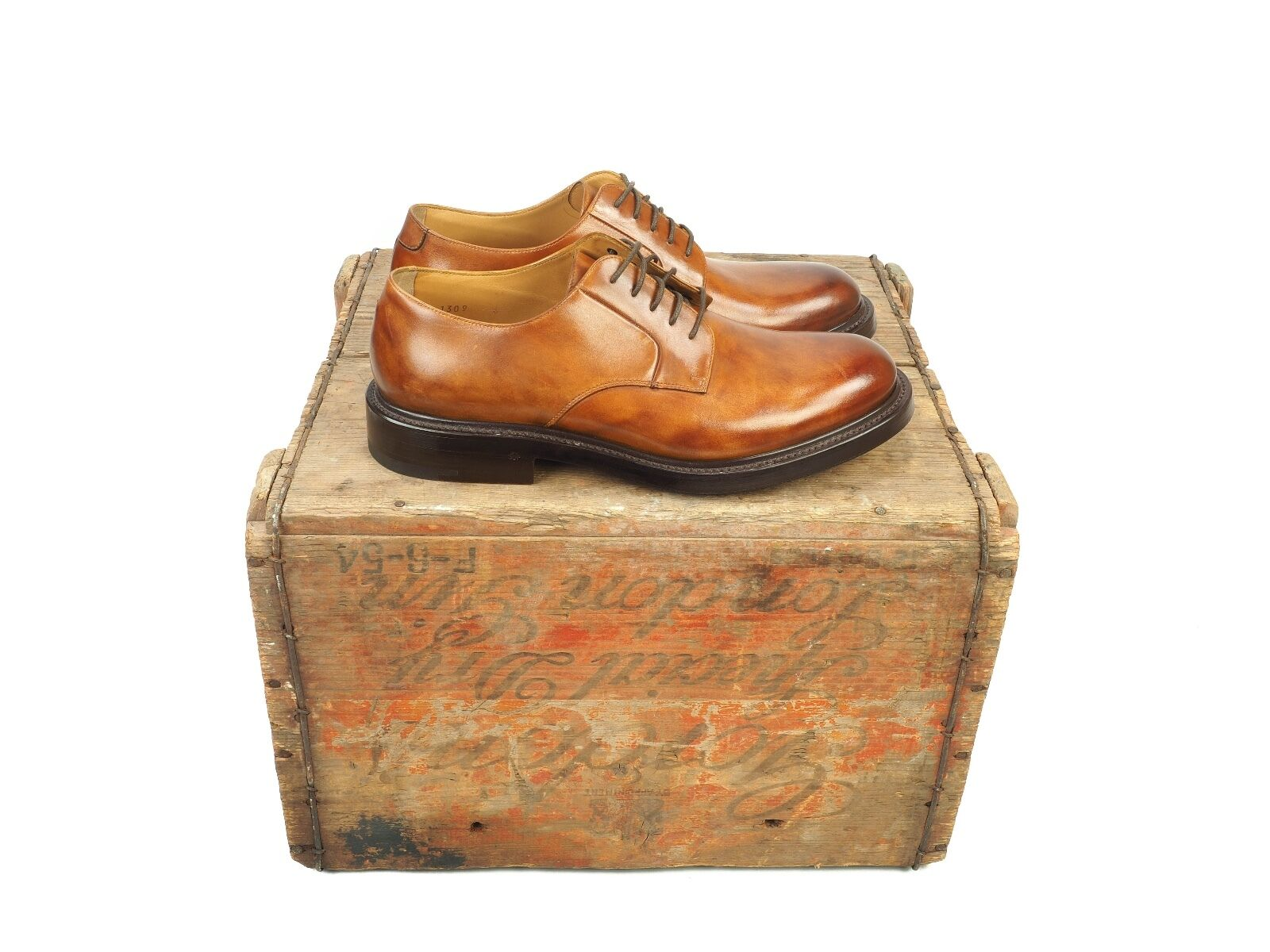 O'Keeffe Felix Derby shoes, Size UK 6, New With Box