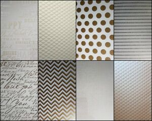 A4-Patterned-Heavy-Paper-Card-Spots-Calligraphy-Embossed-Glitter-Stripes-Zig-Zag