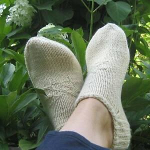 d4856fdda5020 Russian Women's / Men's Wool Socks Slippers Hand Knitted Handmade ...