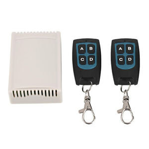 12V 4CH Channel RF Wireless Remote Control Relay Switch 2