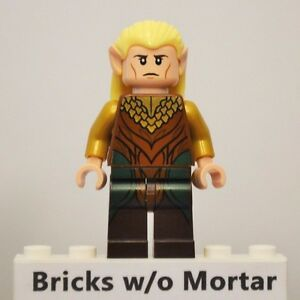 Image Is Loading New Genuine LEGO Legolas Greenleaf Minifig LOTR Hobbit