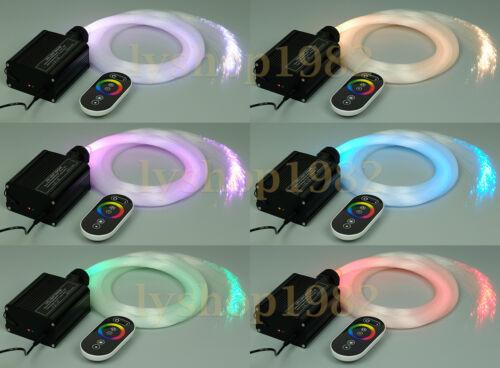 LED Fiber Optic Ceiling Light Kit touchpad control optical fiber lamp 3mx300star