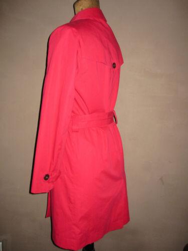 Trench Parfait Rouge Etat Taille Ccc 36 Très D'un Marque Lacoste En Beau ZvHwdq