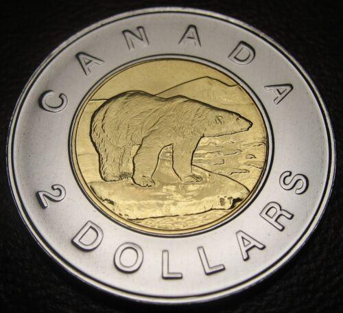 Proof Like Uncirculated RCM $2 // Toonie Polar Bear 2000-w