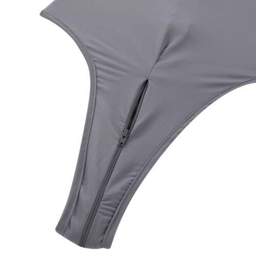 Women Long Sleeve Transparent Bodysuit Ladies Leotard Body Tops T shirt Jumpsuit