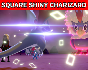 Pokemon-Sword-amp-Shield-6IV-Charizard-Square-Shiny-Gigantamax-Battle-Ready