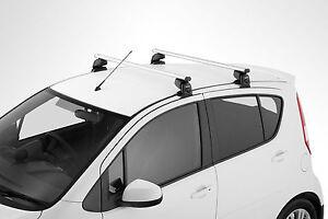 Genuine Suzuki Splash Lockable Multi Roof Bars Rack Fits