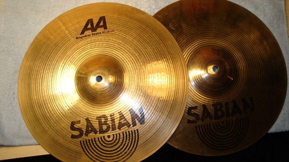 """Hi-hat, Sabian AA Regular Hats 14"""""""