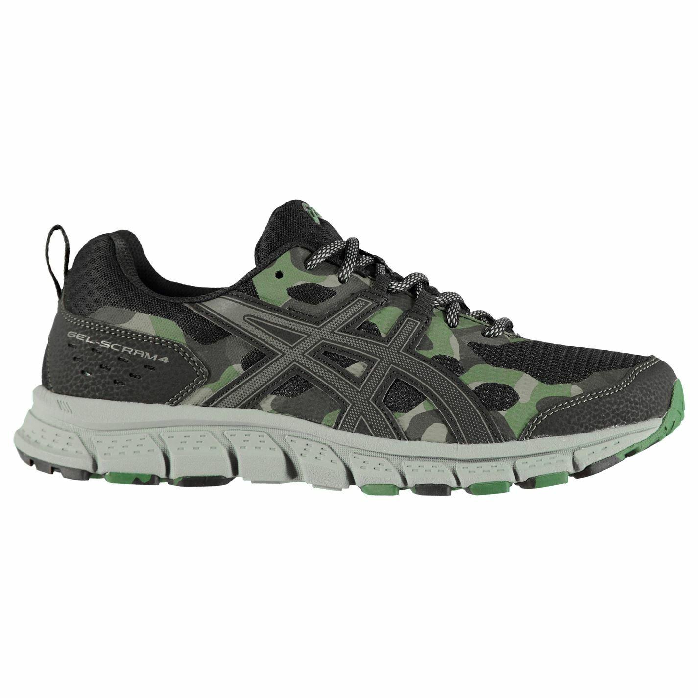 Asics Mens Gel Scram 4 Trail Running shoes Lace Up