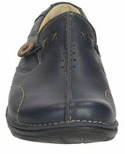 Loop' scuro Shoes in Ladies blu 'un Unstructured Clarks pelle wBqSIRB1