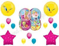 Pampered Tweety Bird Spa Day Shopping Birthday Party Balloons Decoration Orbz