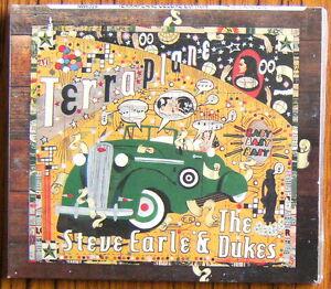 STEVE-EARLE-amp-THE-DUKES-Terraplane-CD-DVD-Digipack-2015-NEW-amp-SEALED