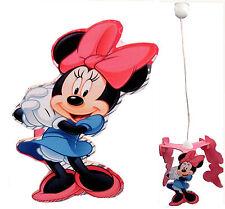 Lampadario Minnie a sospensione per cameretta bimbo