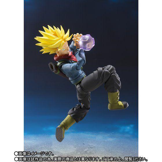 Bandai S.H. Figuart Dragon Ball súper futuro troncos versión japonesa