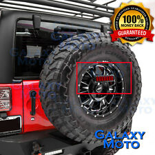 07-17 Jeep JK Wrangler 3rd Brake Tail LED light w/Rear Spare Tire Bracket Mount