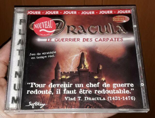 Très rare : Dracula le Guerrier des Carpates sur PC