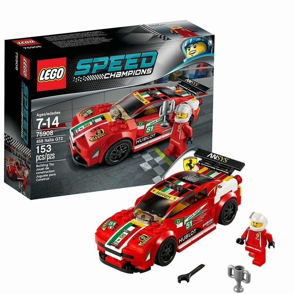Lego 75908 - Speed Champions - 458 Italia GT2 - NUEVO