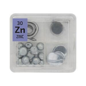 Zinc Fil Metallique Poudre Pellets Foil Quad Element Tile Pure Tableau Periodique Ebay