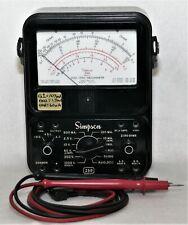 Simpson 260 Vintage Multimeter Amp Test Leads Lowered Price 092021