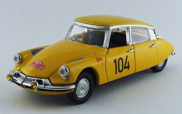 Rio 4450  Citroen DS19  104 rtuttiye Monte autolo  1962   143