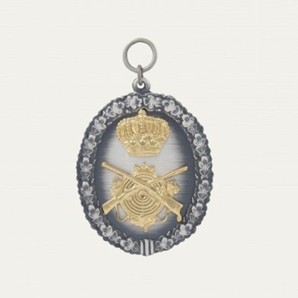 Full Protect Medal of laying, Medal also engraved 25417