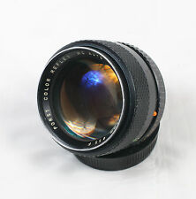 Porst Color Reflex 55mm f/1.2 MC Auto Pentax K PK mount  6312