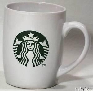Starbucks Grande Ceramic Tall Cup 16 oz Coffee Mug White ... |Starbucks Coffee Logo 2012