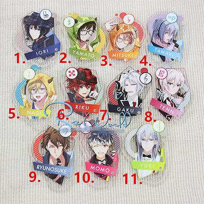 T035 Japan IDOLiSH7 Trigger Re:vale Keychain Acrylic badge badges