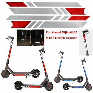 PVC-Para-Xiaomi-Mijia-M365-M187-Electric-Scooter-Reflective-Sticker-Styling-Set