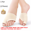 Bunion-Toe-Protector-Gel-Corrector-Straightener-Pad-Valgus-Hallux-Fabric-2-Splin thumbnail 1