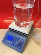 MESE Digital Hotplate Magnetic Stirrer, PID Controller, 19x19cm Ceramic TopPlate