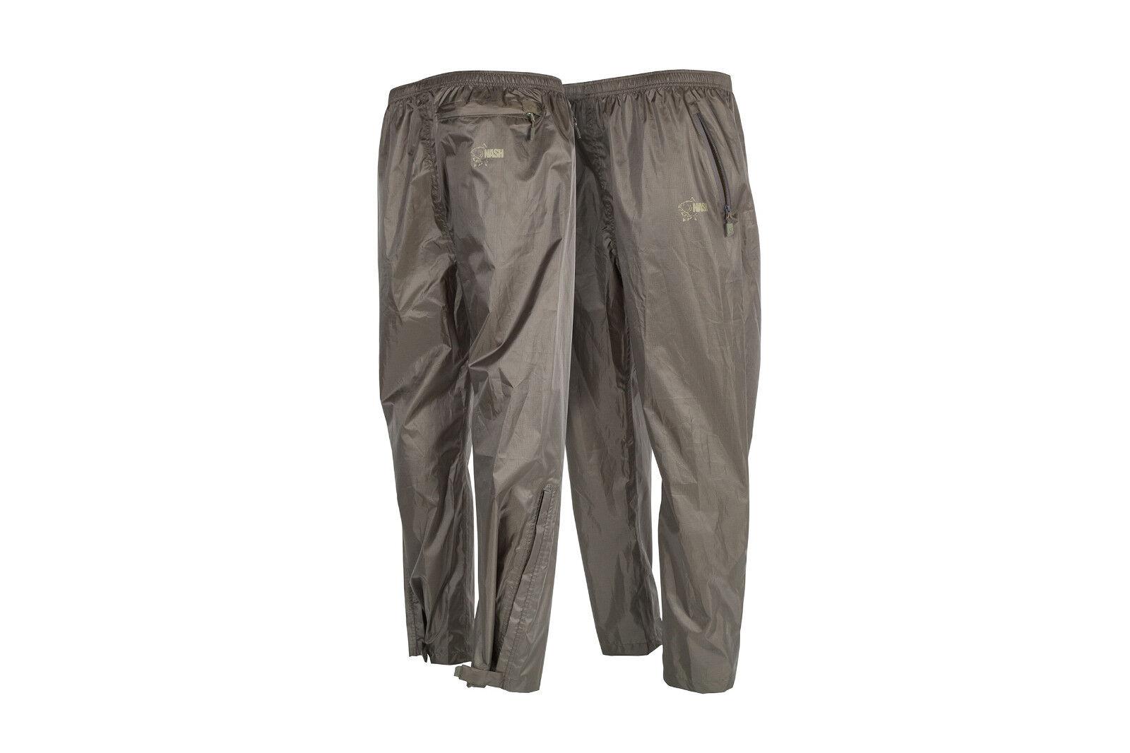 Nash Packaway Waterproof trousers pantaloni pioggia RAIN TROUSERS Pantaloni Pioggia