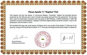 Apollo-11-Gold-Kapton-Foil-Flown-to-the-Moon-On-Beautiful-COA-59-95-NASA