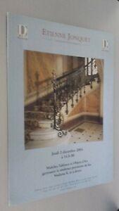 Catálogo De Venta Demuestra Etienne Jonquet Jueves 2 Diciembre 2004 Buen Estado