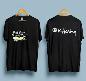 2b178ebe010 Details about RARE Vintage Keith Haring Skateboard Pop Art Tee Reprint  T-Shirt Size S to XXL