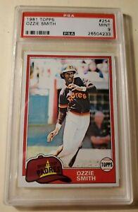 Ozzie-Smith-1981-Topps-254-PSA-9-Mint-Padres-amp-Cardinals-HOF