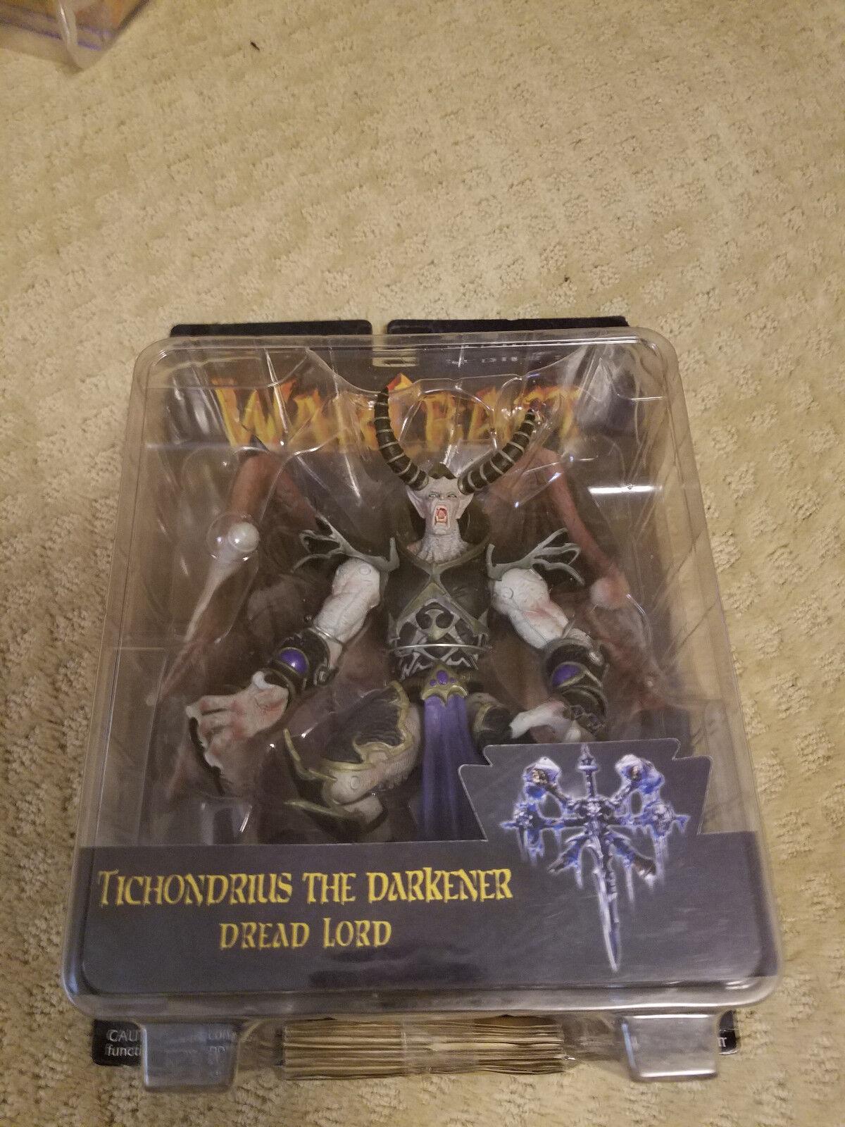 2003 Warcraft 3 Series 1 One Tichondrius the Darkener Dread Lord Figure MOC